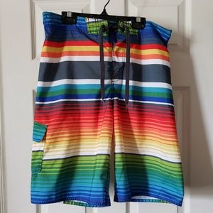 Boys large hang ten swim trunks